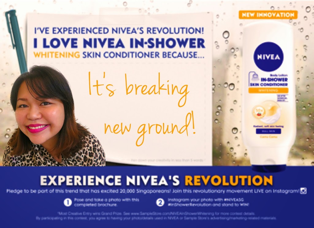 Nivea In-shower Whitening Skin Conditioner (Review) - A Deecoded Life